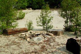 Sand Pit Campfire