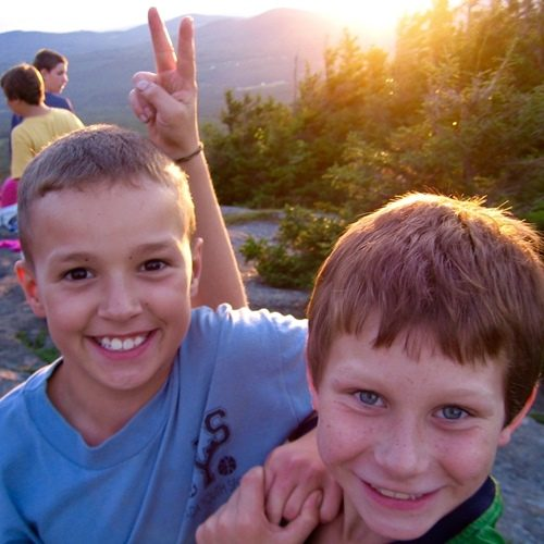 Boys on Bald Knob