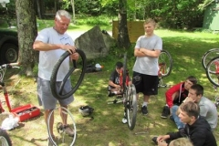 Changing a Flat Tire Demonstration