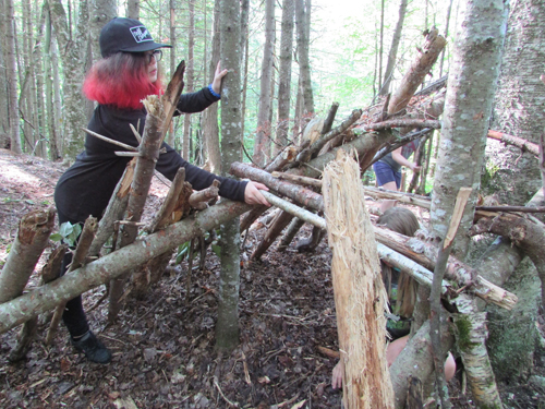 Copper Cannon Camp - Shelter Building